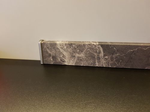 Visiogrande Clip-Leiste Granit anthrazit 2400 x 58 x 19 mm